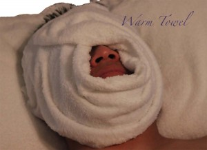 Rox Skin Studio best spa plano facial warm towel
